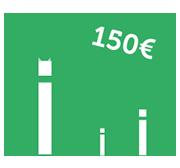 Votre filleul peut bénéficier d'un chèque cadeau d'une valeur de 150 euros