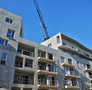 Construction de logements neufs à Tours