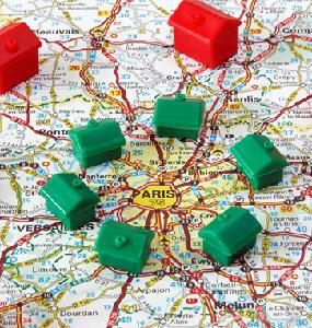 Délimitation de la région Parisienne
