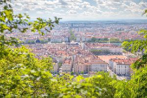 Lyon vu de La Fourvière