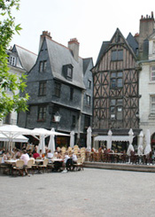 Place Plumereau à Tours