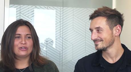 Interview de Manon et Alexandre